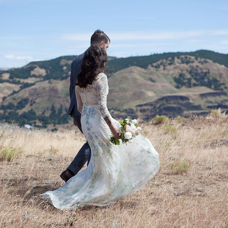 Geyln Montanino Wedding Dress