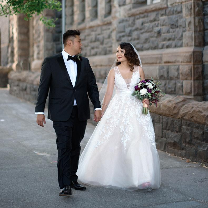Sheryl Gallarde Wedding Dress